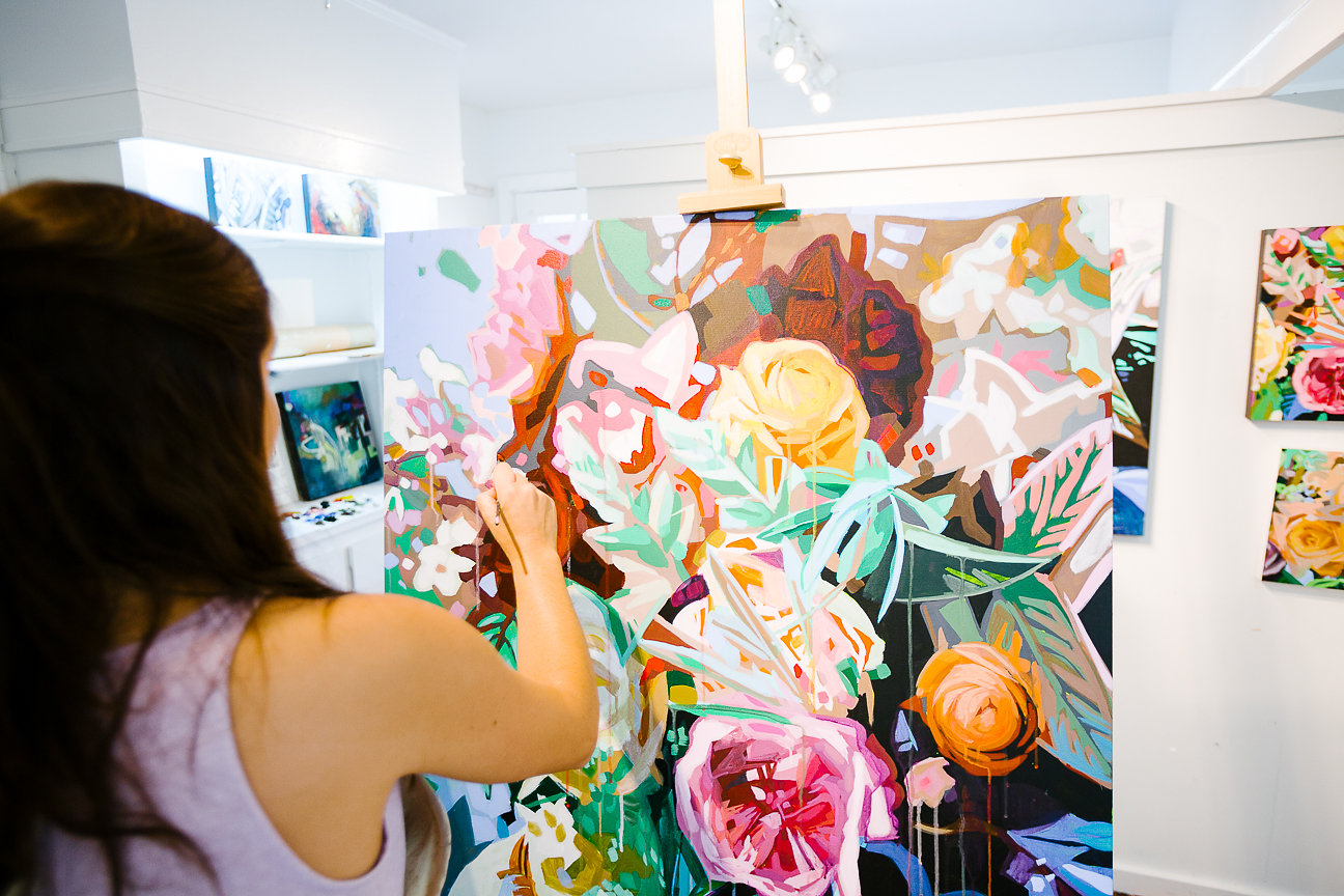 Kate Mullin Painting