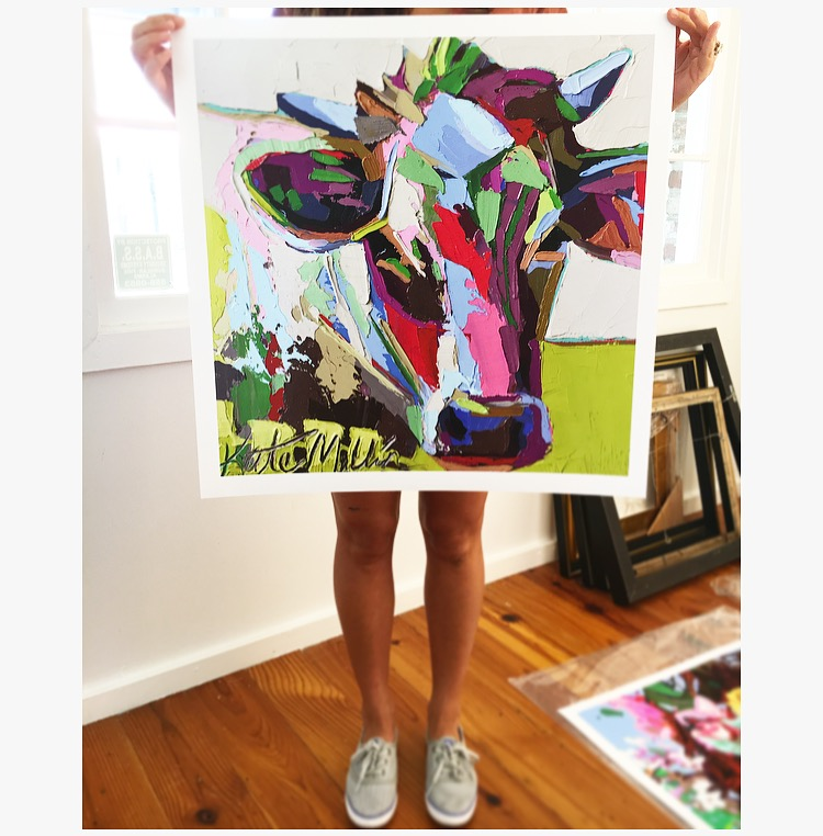 Kate Mullin Cow Print