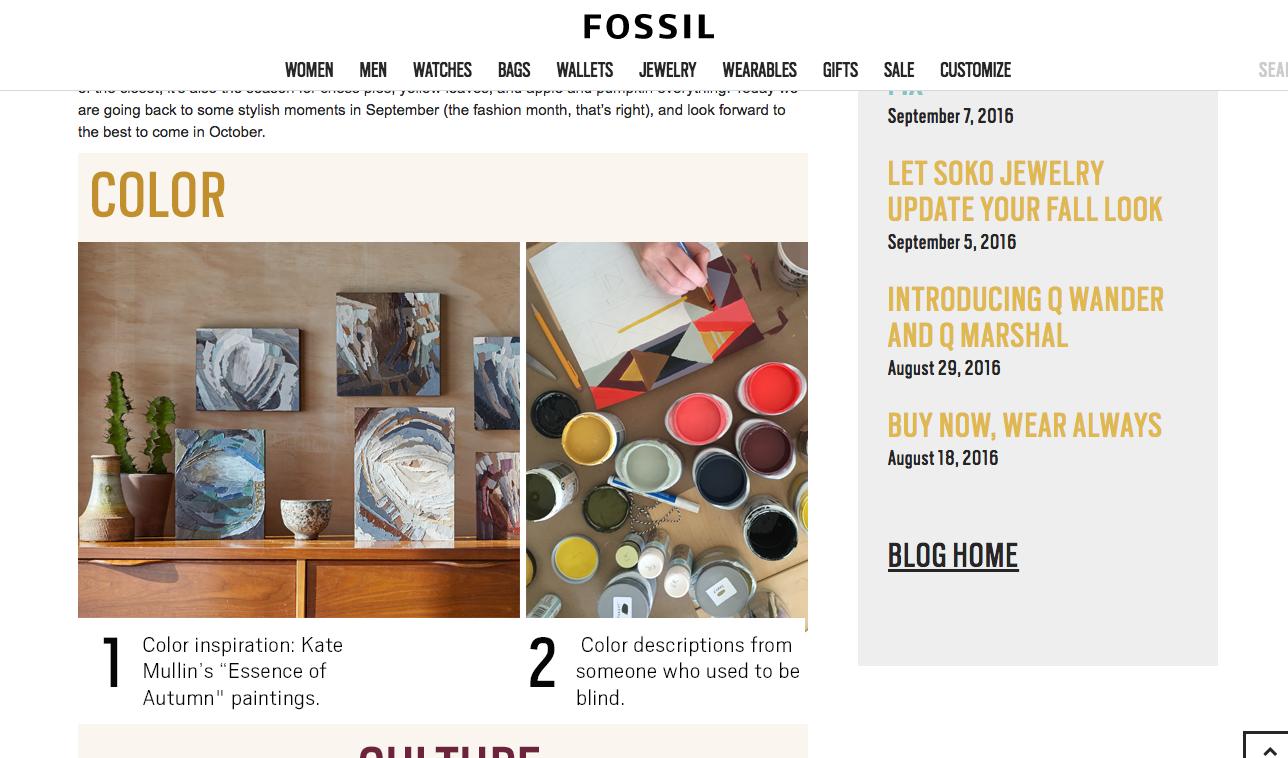 Kate Mullin Williford. Fossil Collaboration