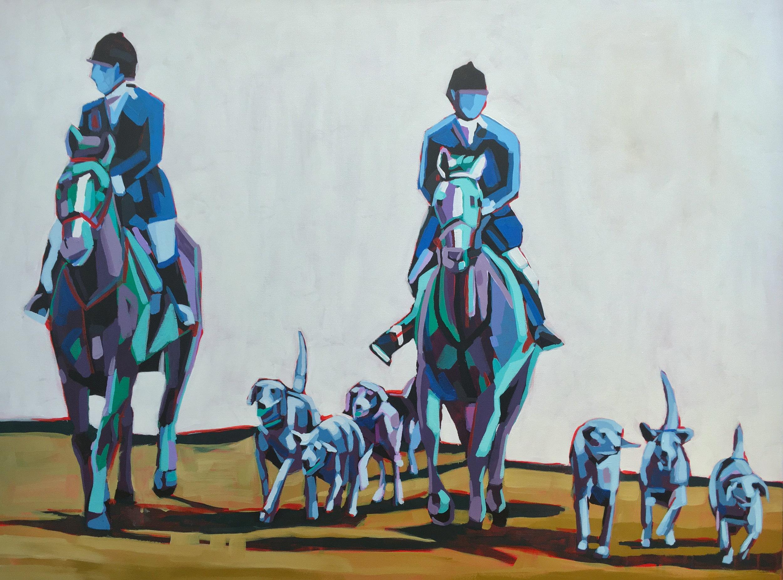 Kate Mullin Williford Horse Painting