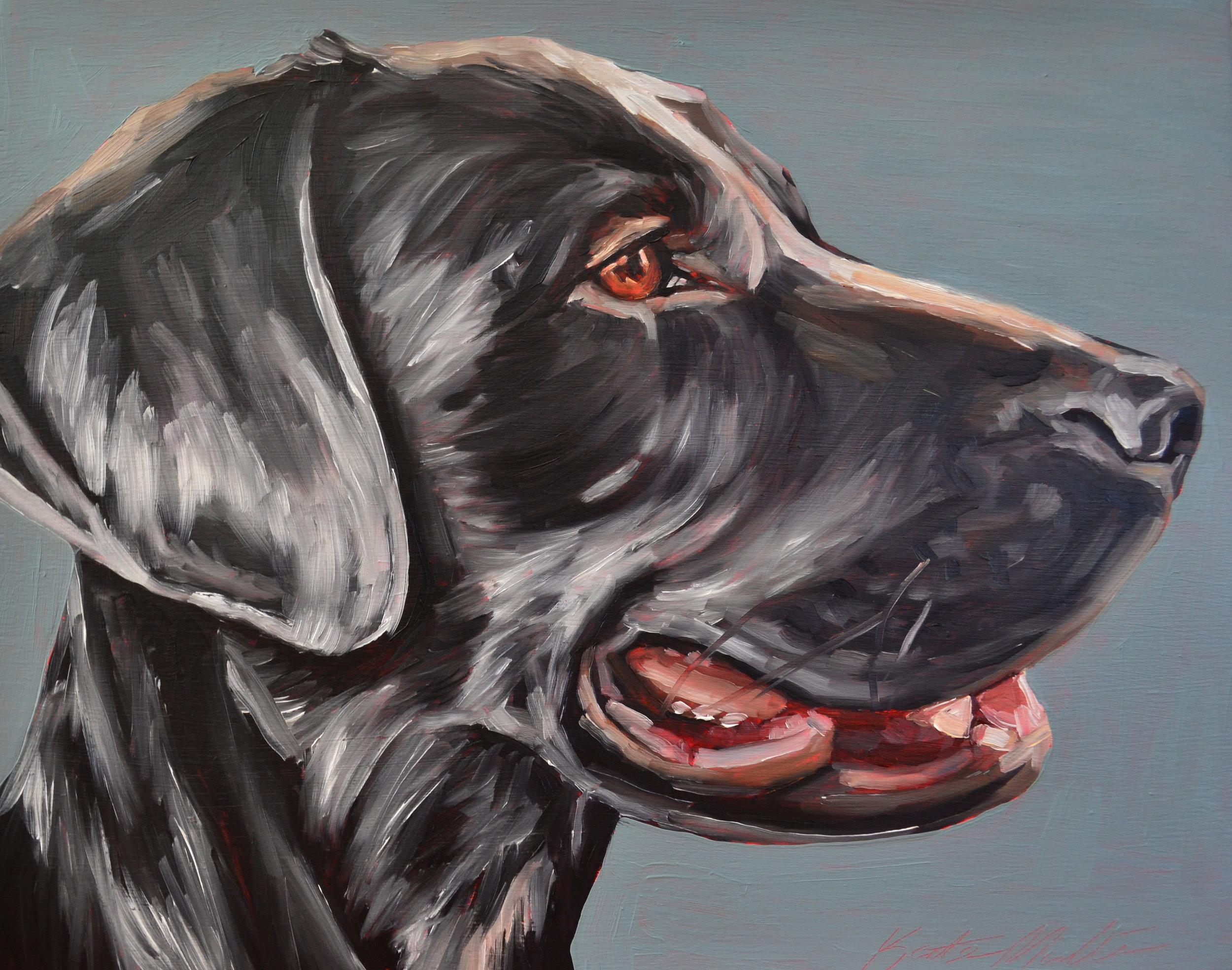Kate Mullin Dog Painting