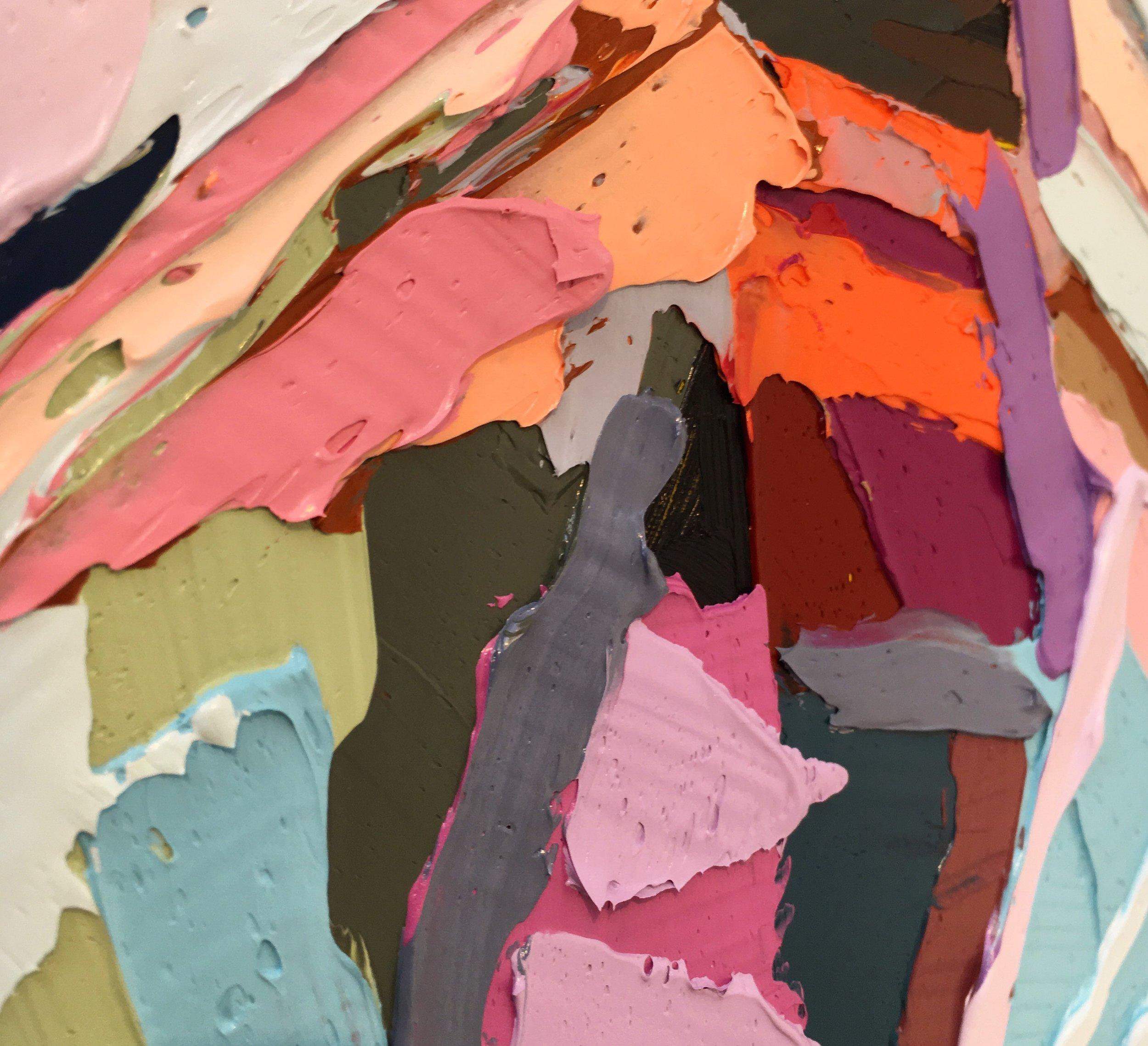 Thick Oil Paint. Kate Mullin Artist