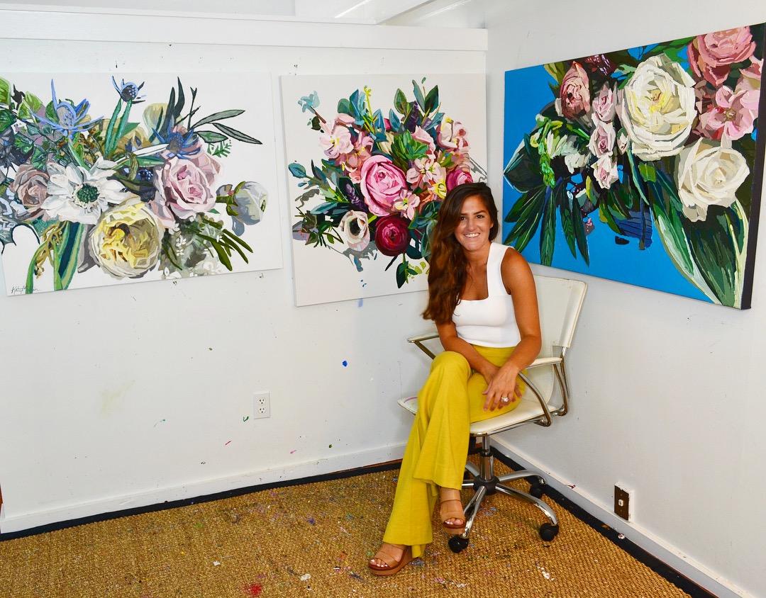 Kate Mullin Art Show. Cigar Factory