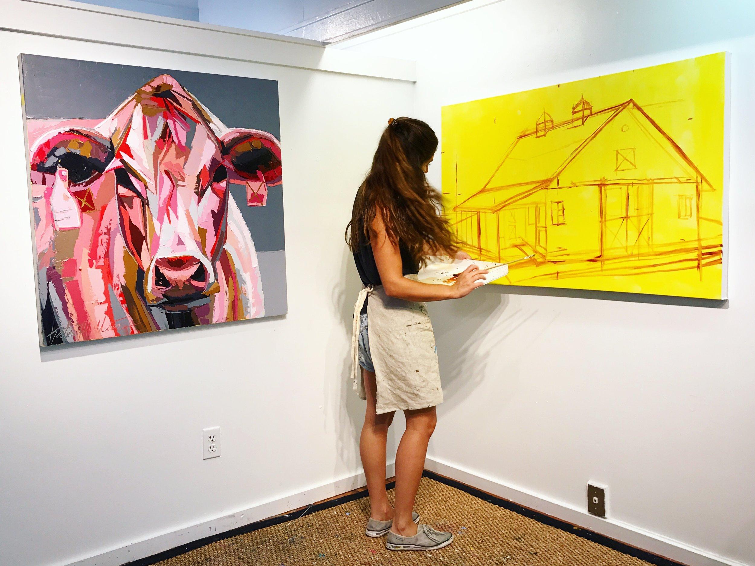 Barn Cow Kate Mullin Williford