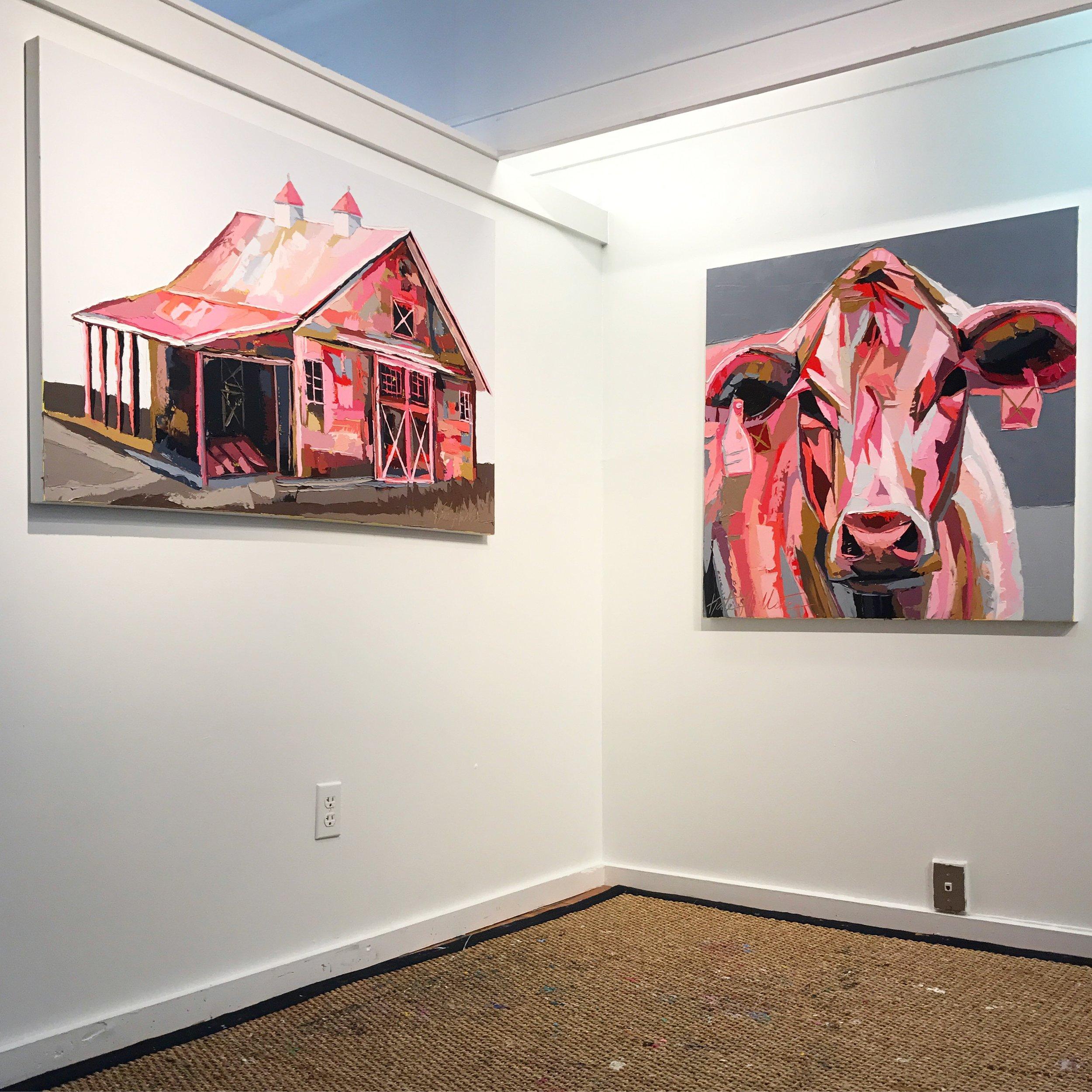 Barn Art Kate Mullin Williford