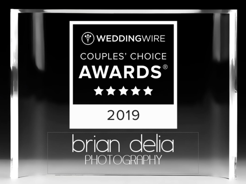 2019 Couples Choice Award Brian Delia Photography