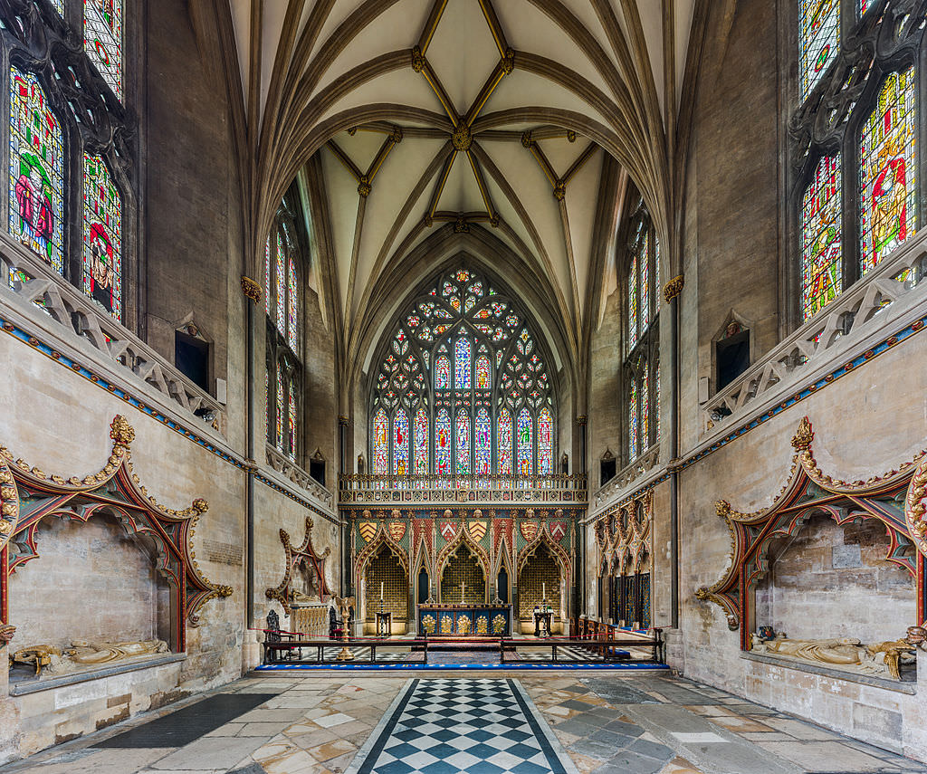 The Lady Chapel at Bristol Cathedral. Photo by  David Iliff
