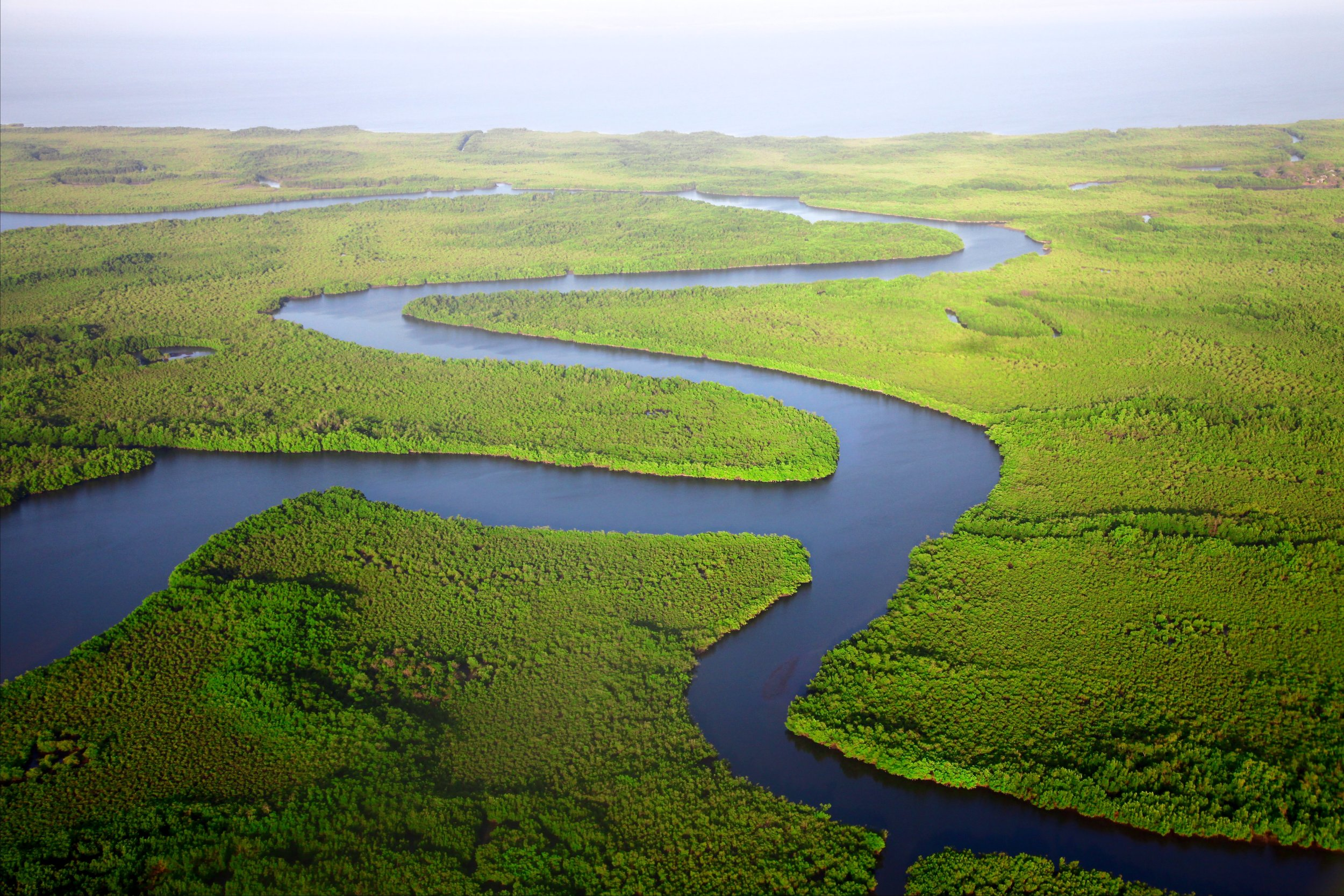 A Place of Flowing Rivers. Pic from The Gambia by  Daniel Roizer.