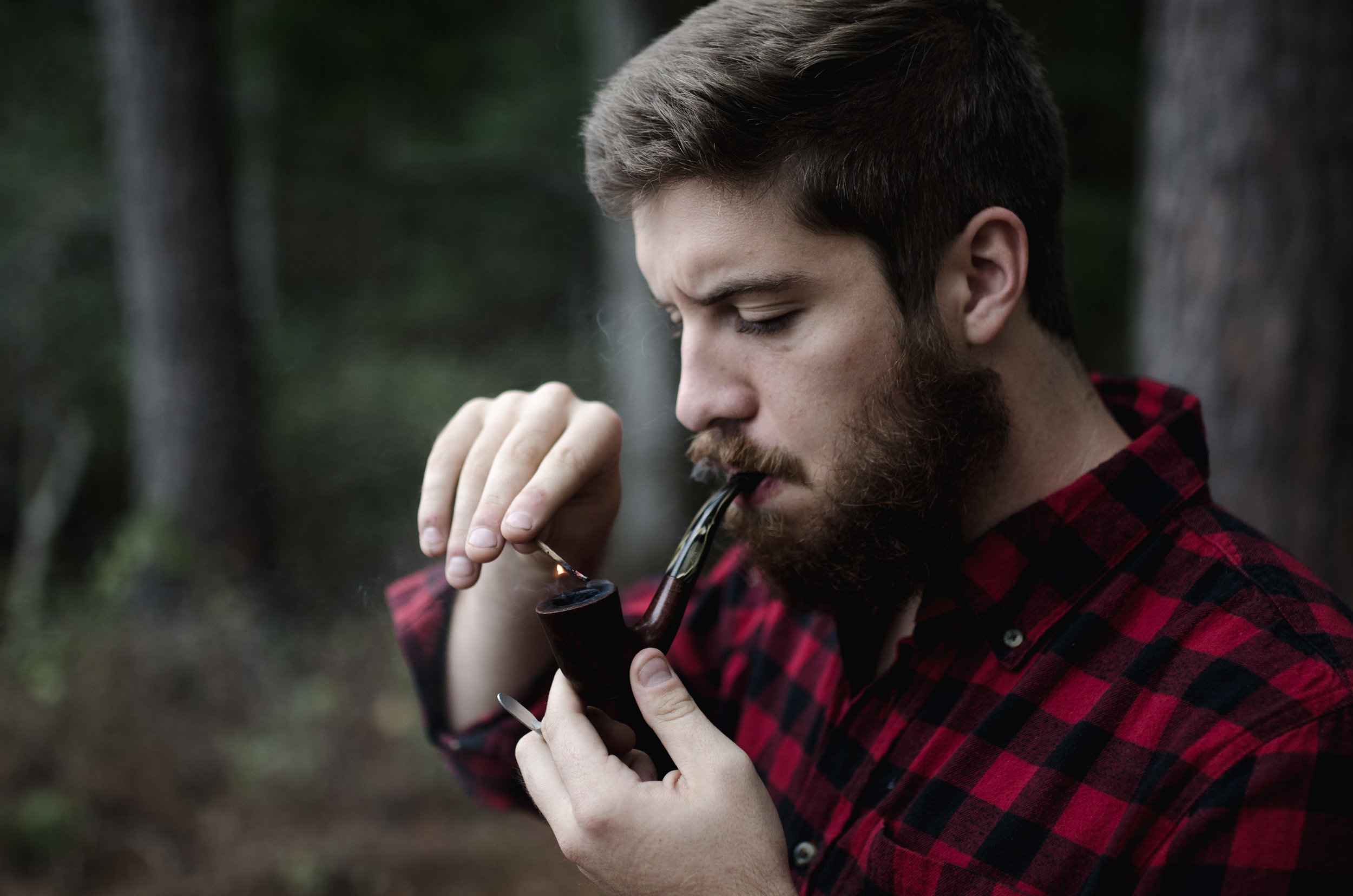 """""""Pure tobacco would be so much better"""". Pic by  Andrew Welch ."""