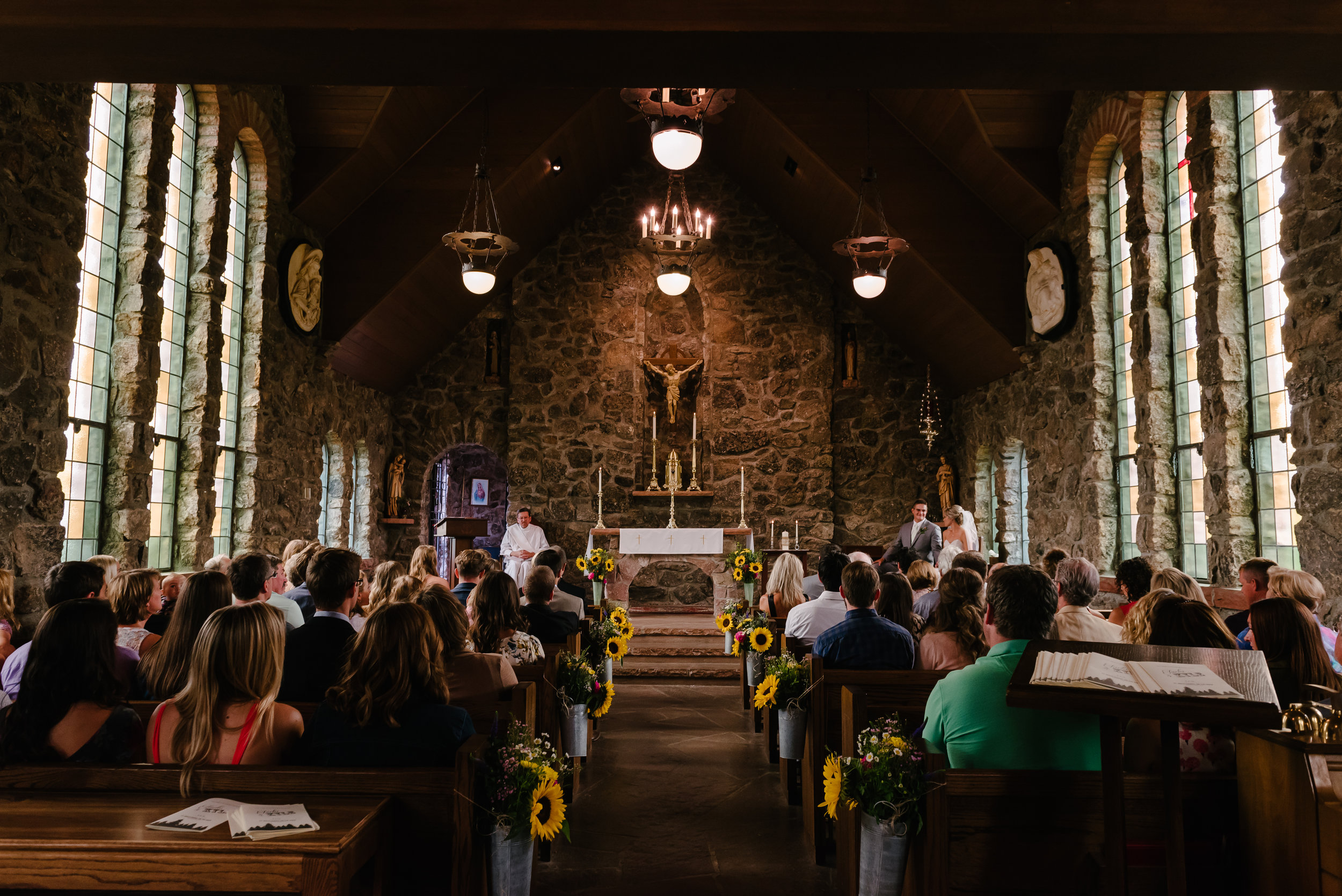 Church congregation. Photo by  Josh Applegate .