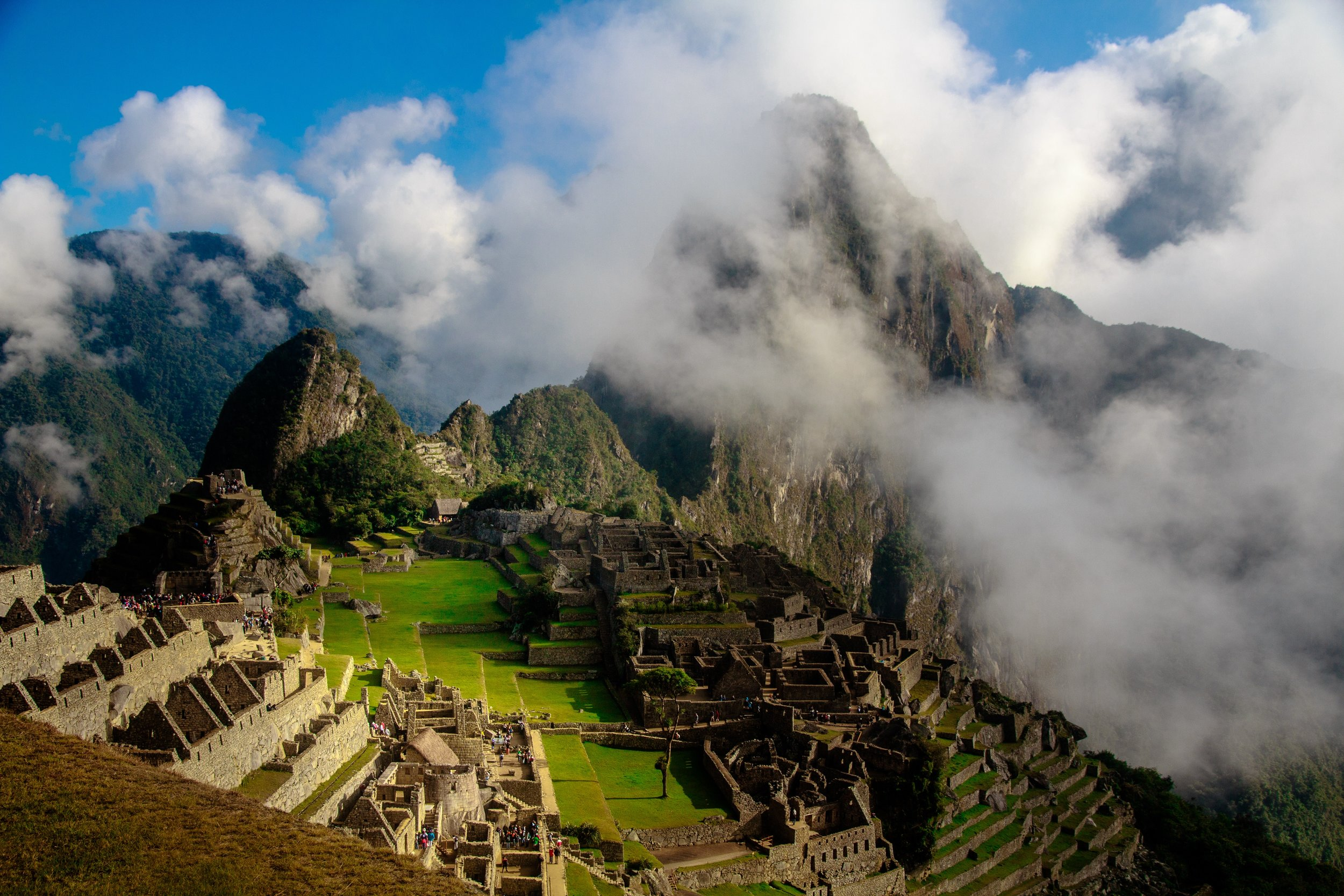 'For them... it will be just another distraction' Photo of Macchu Pichu by  Scott Umstattd .