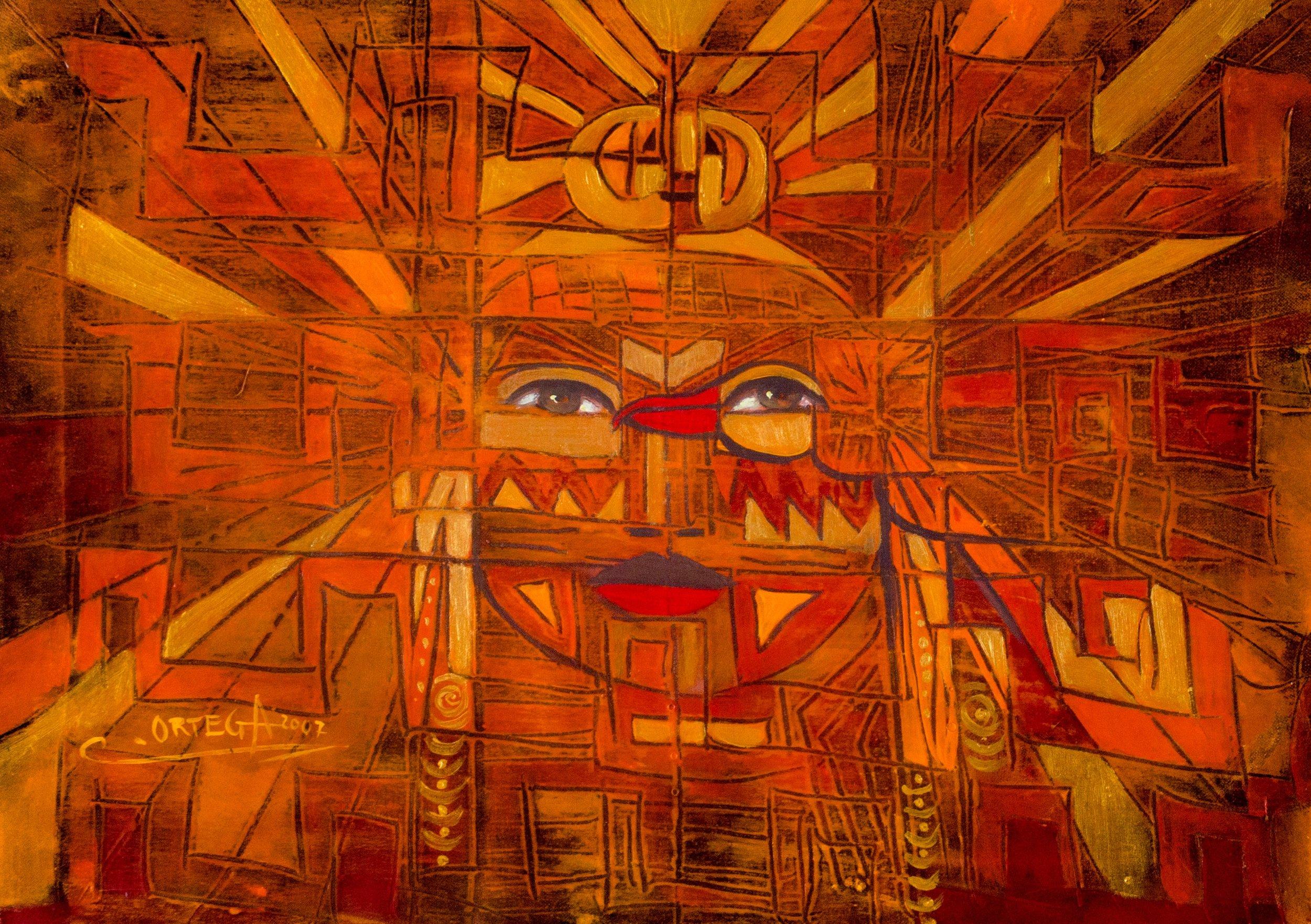 Original artwork by  Ortega Maila .