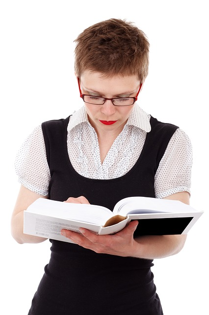 The girl will have more important books to read to stay one step ahead.  PublicDomainPictures .