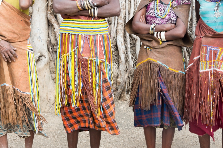 A small part of the bigger picture. Indigenous people in Africa photographed by  Chrissie Kremer .