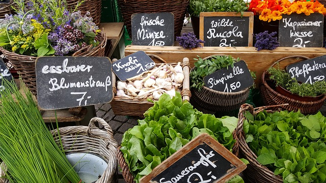 Local produce for local people's health. Photo by  Brigitte Wagner .