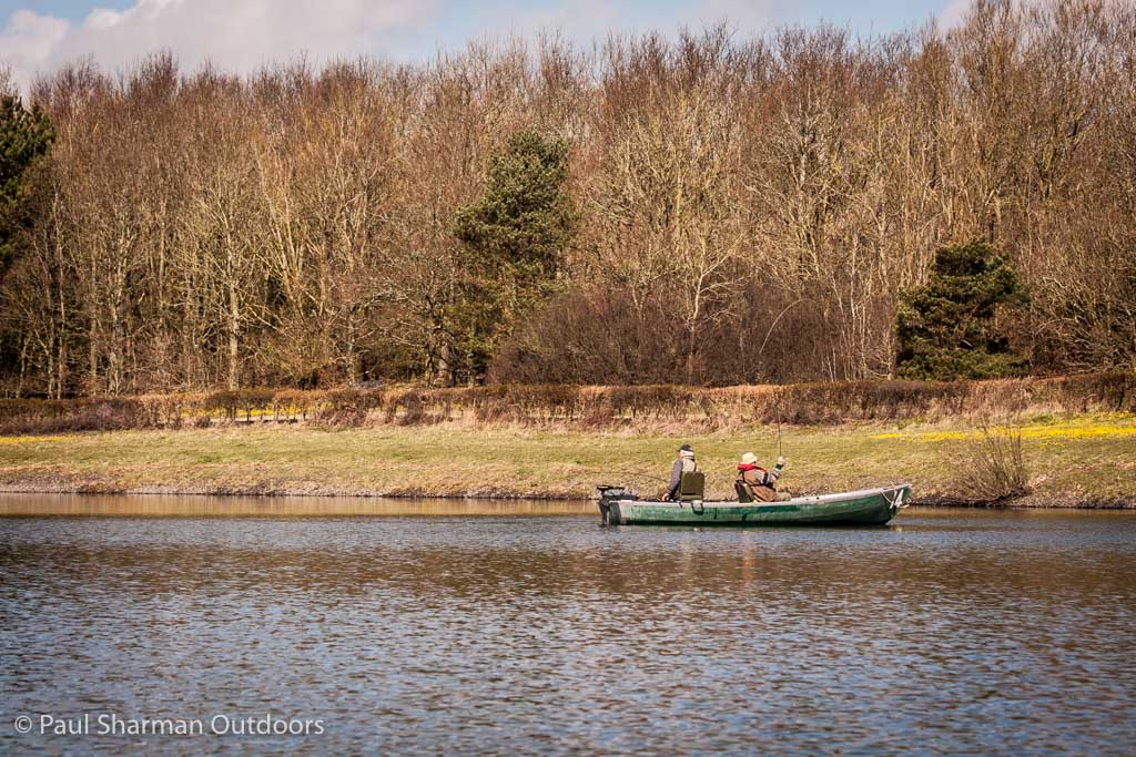 With plenty of tree cover, terrestrials as well as aquatic insects play a large part in the diet of the trout at Arlington reservoir in East Sussex.