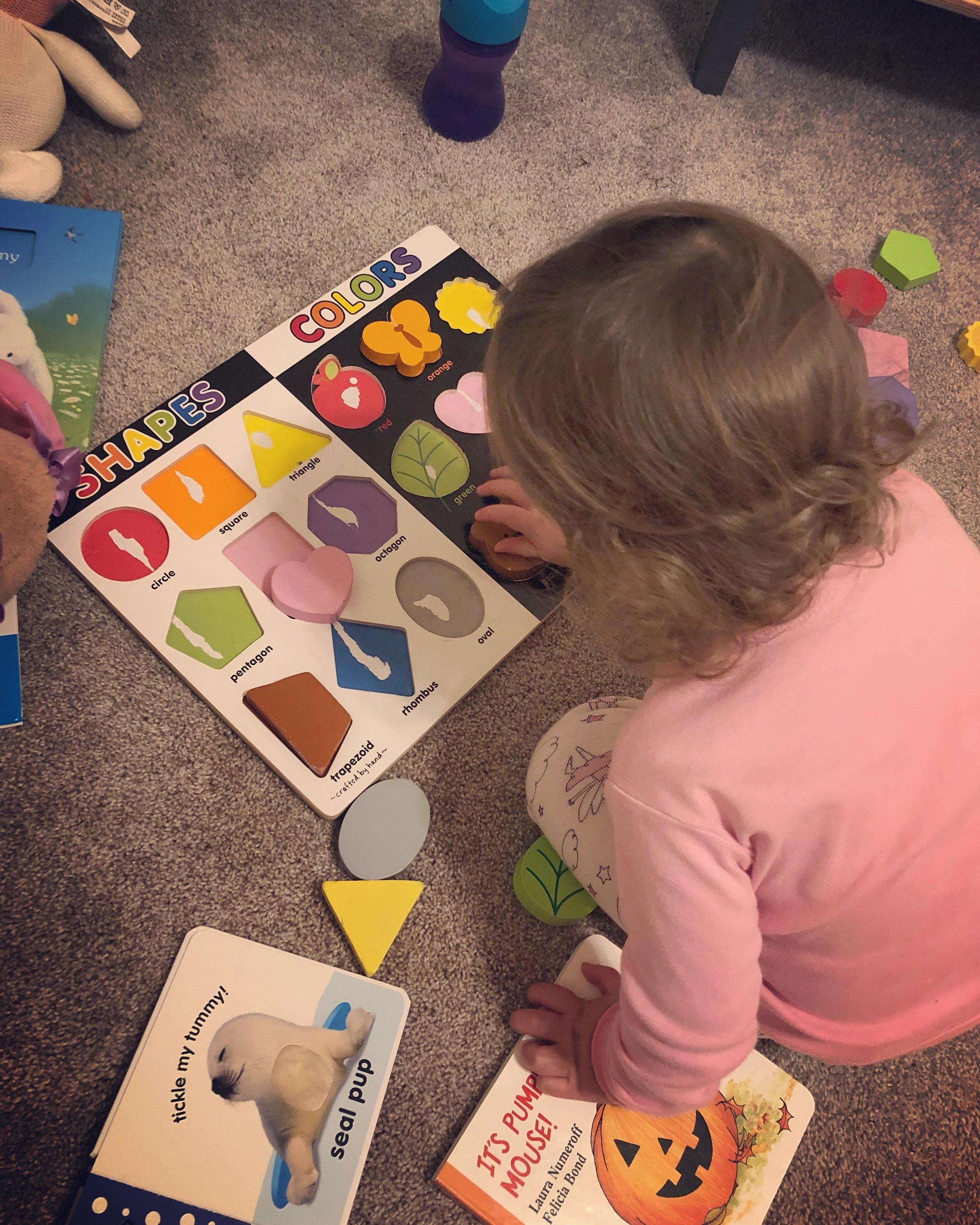 Baby Gap  |  Halloween Book  |  Toddler Puzzle (Similar)