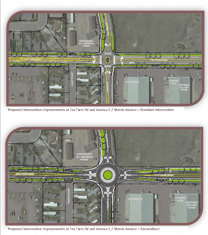 Fox Farm Road Corridor Study- Options for the Avenue C Intersection