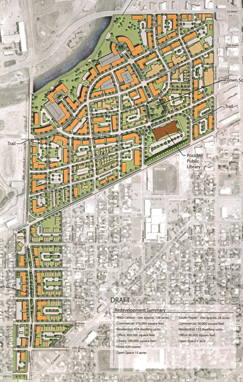 Poplar Street and old Yellowstone district subarea plan
