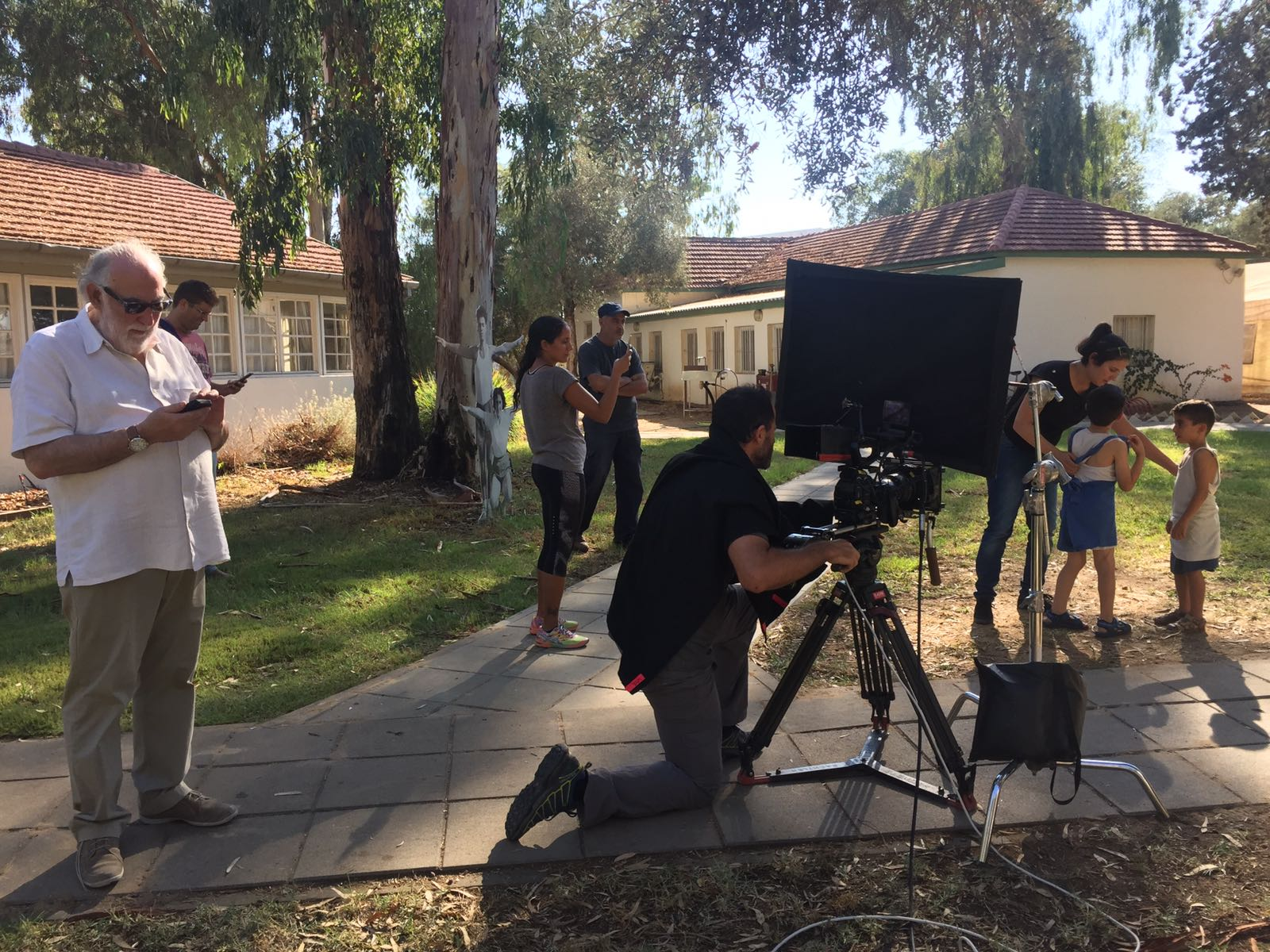 Sneak preview of newly shot film will be shown at the private home of the incoming JNF President in San Diego. The goal is to finish the movie by 2018 in time for Israel's 70th anniversary