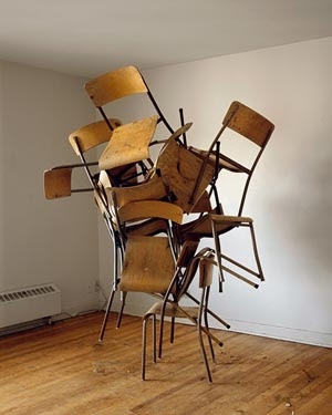 Entanglement of Chairs