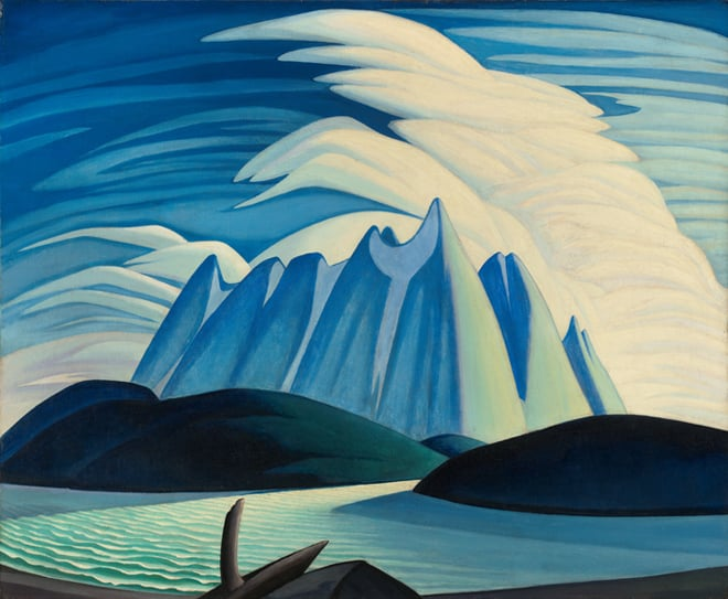Lake and Mountain by Lawren Harris