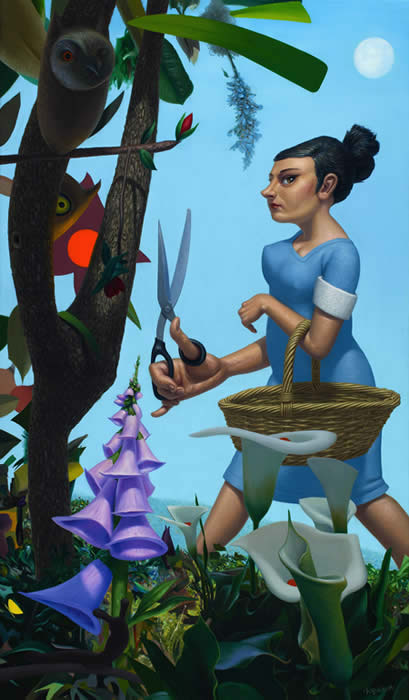 'Flora (Snipper, Snapper)' by Michael Abraham