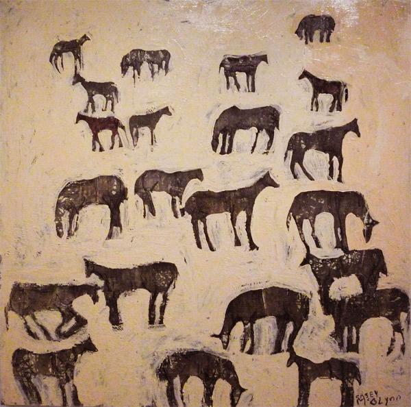 '22 Horses Deep' by Casey McGlynn