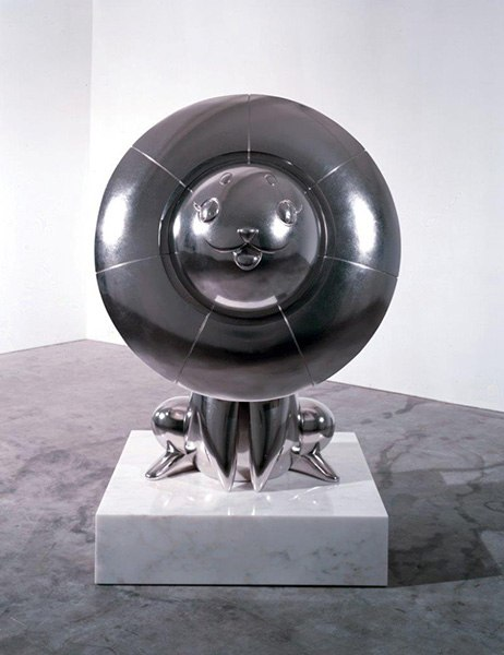 Yume Lion , 2009 by Takashi Murakami courtesy of Gagosian Gallery, NYC