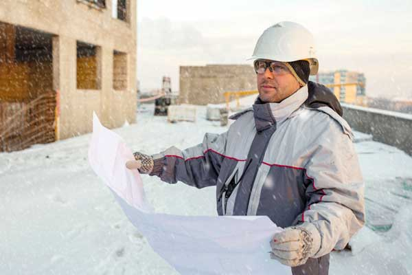 Enbue Technology Enabling Winter Construction