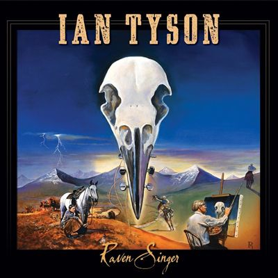 Another album cover painting by Paul Rasporich has done for Ian Tyson