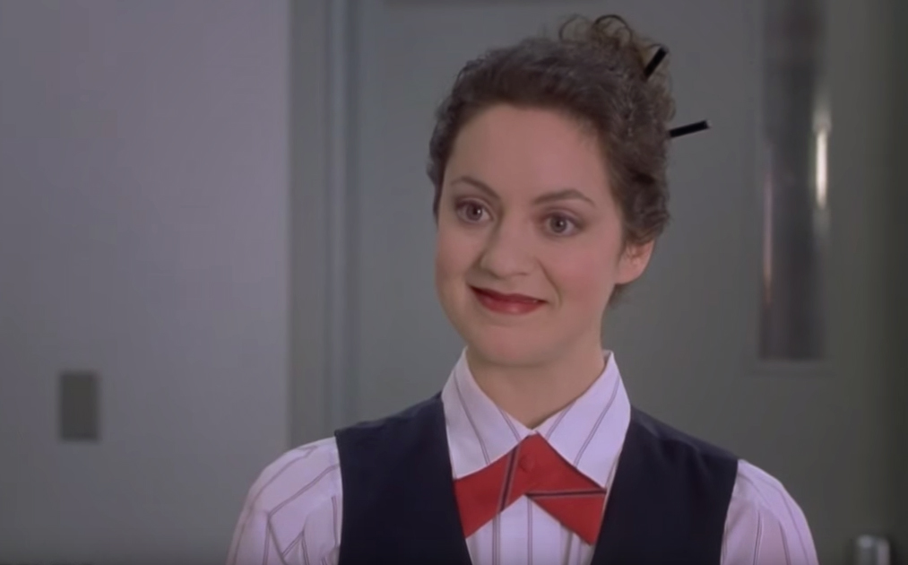 And all I ever think of when it comes to boarding agents and such is THIS chick here from Meet The Parents!