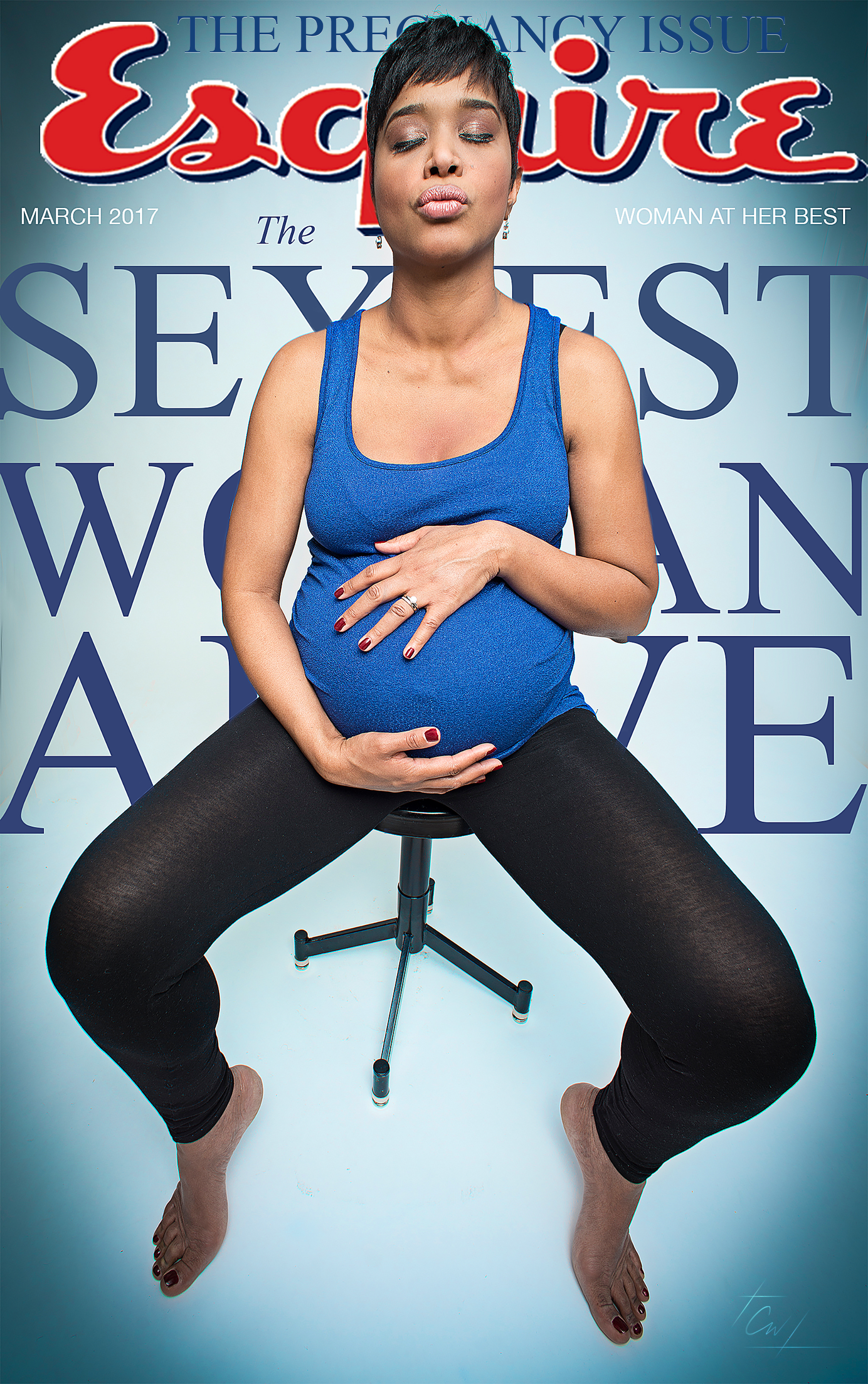 Patsi Arias Maternity-Esquire Cover-Christian Webb-New York