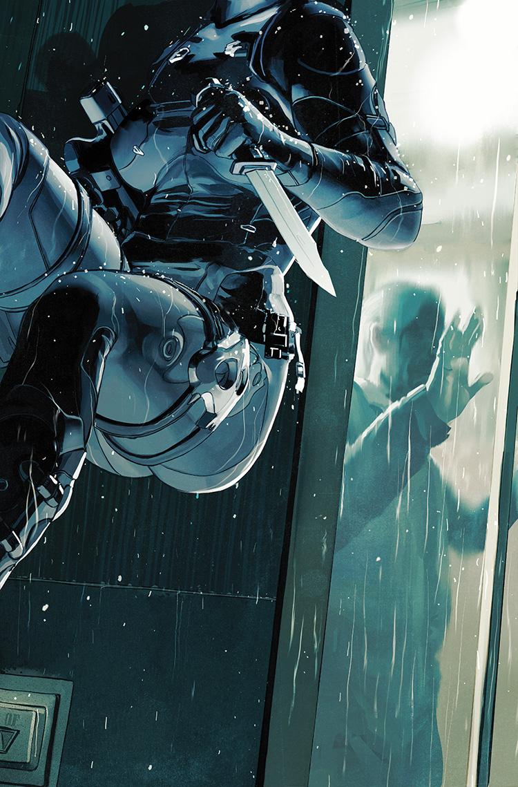 Lazarus #13 cover illustration for Image Comics.