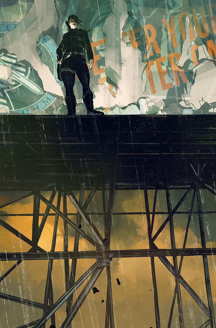 Lazarus Volume 2: Lift -Cover illustration for Image Comics.