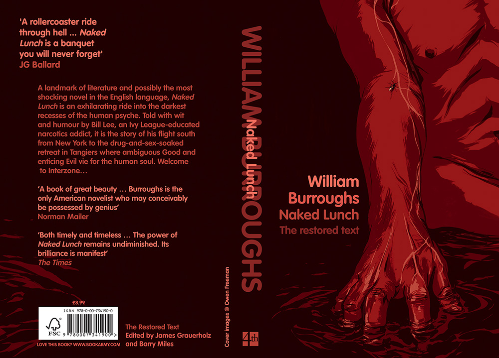 Naked Lunch  - Cover illustration for the novel by William Burroughs.