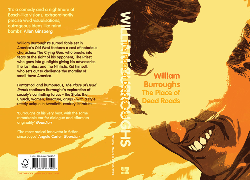 The Place of Dead Roads  - Cover illustration for the novel by William Burroughs.