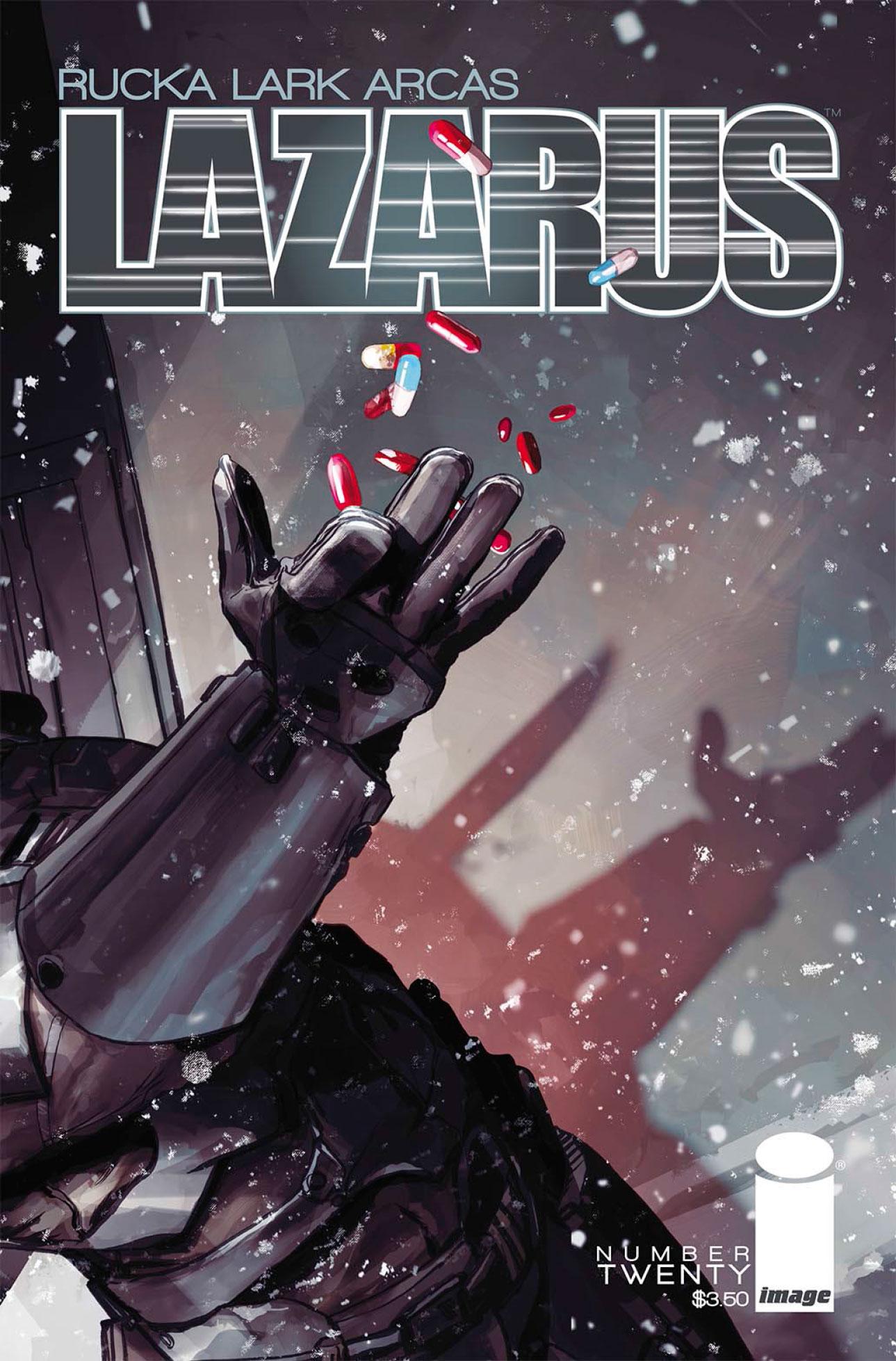 LAZARUS 20 Cover