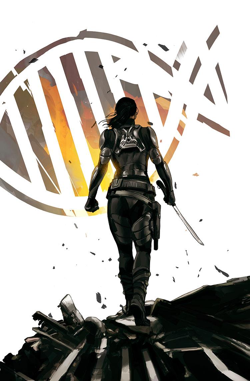 Lazarus Book 2 - Cover illustration for Image Comics.