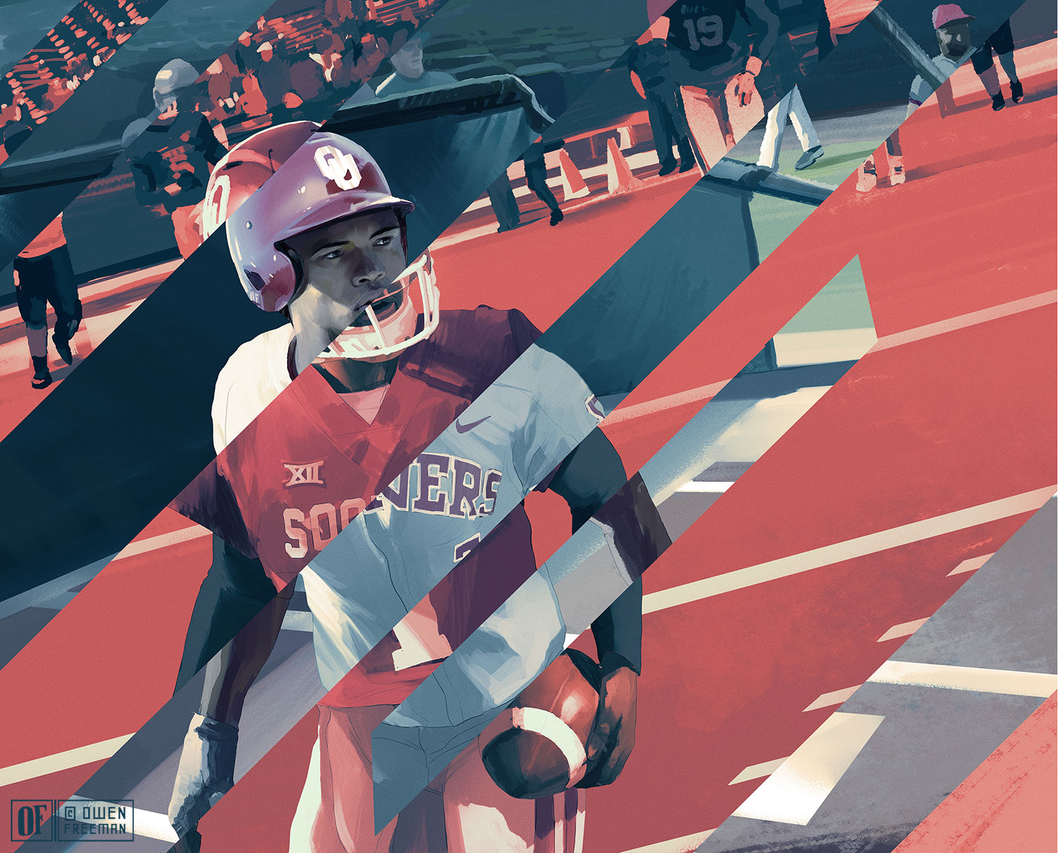 ESPN: Kyler Murray illustration