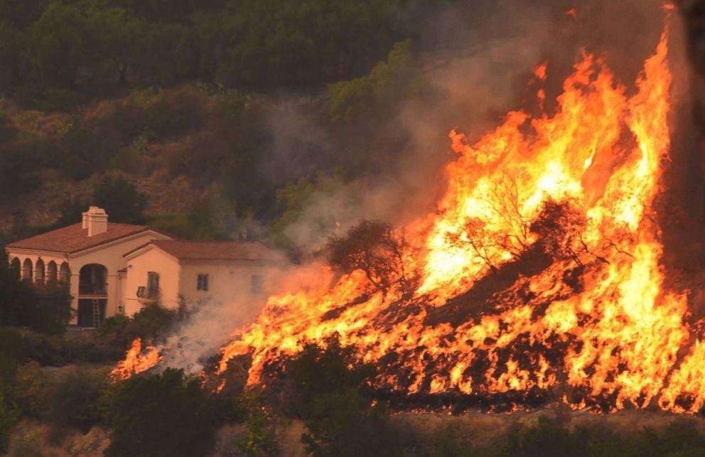 The Thomas Fire, California, 2017