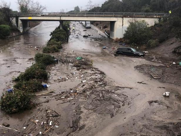The Montecito Mudslide, California, January 2018