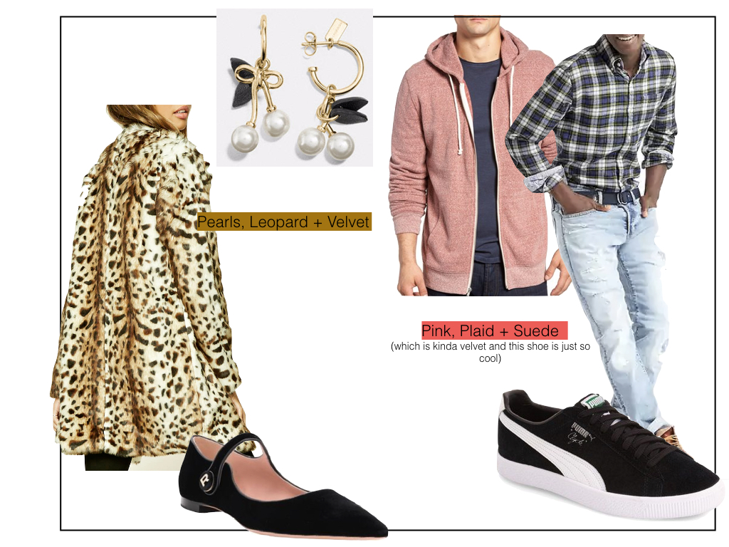 Here are two examples of how to mix all these trends together.  Click here for links  to everything you see in this post.
