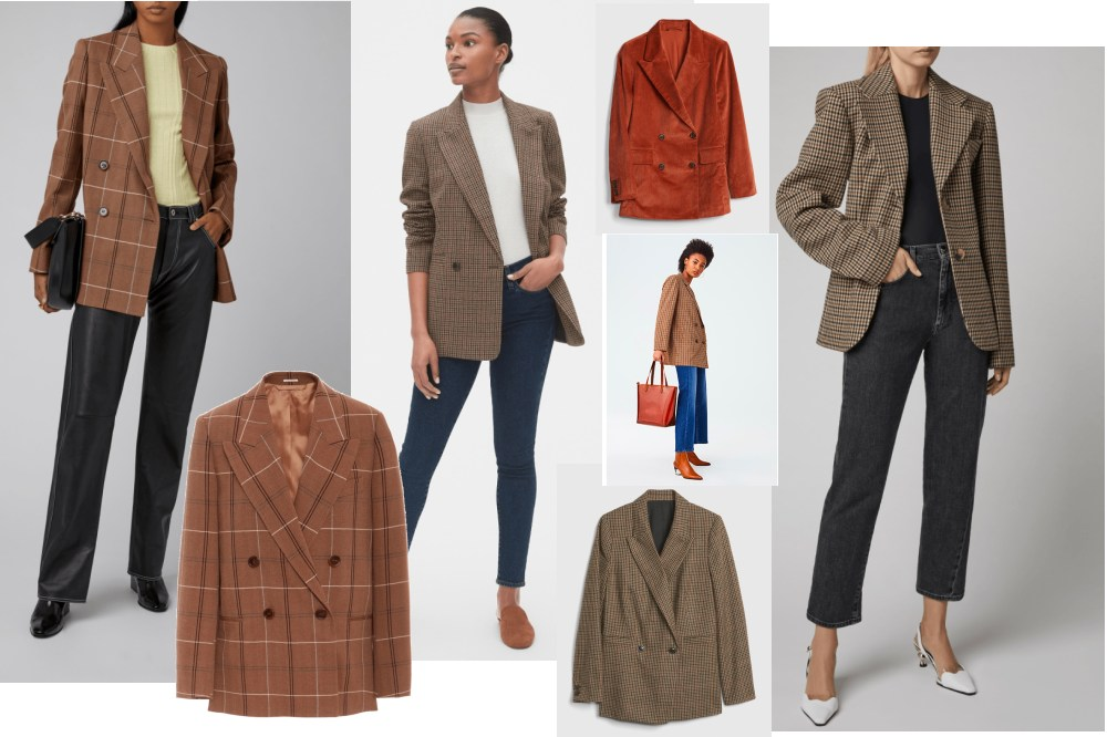 Click here to link to all of these looks/blazers.