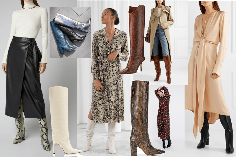Click here to link to all of these looks/boots.