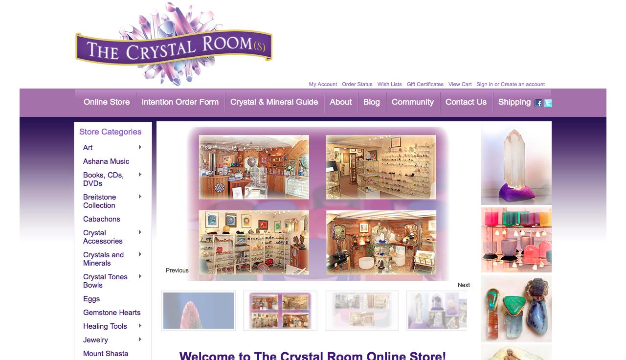 The Crystal Room Mt Shasta