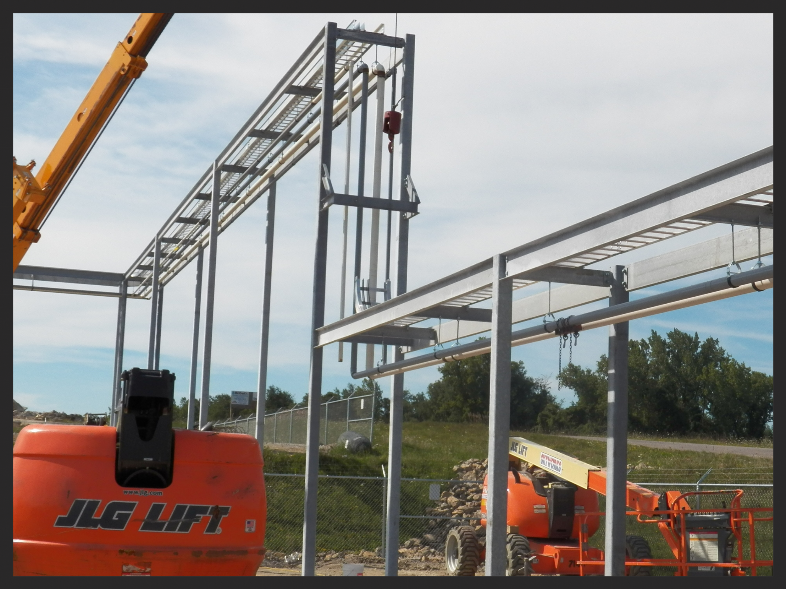 Pipe and Conduit Rack