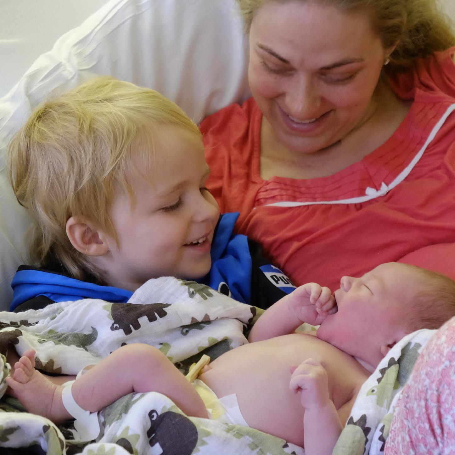 Isaac, Jen and Luke!