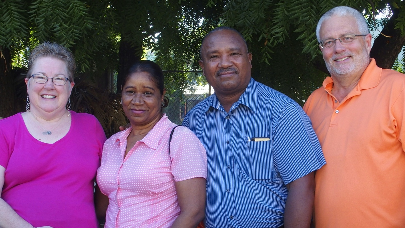 Pastor Jesus and his wife, Virginia, warmly welcomed us in Azua!