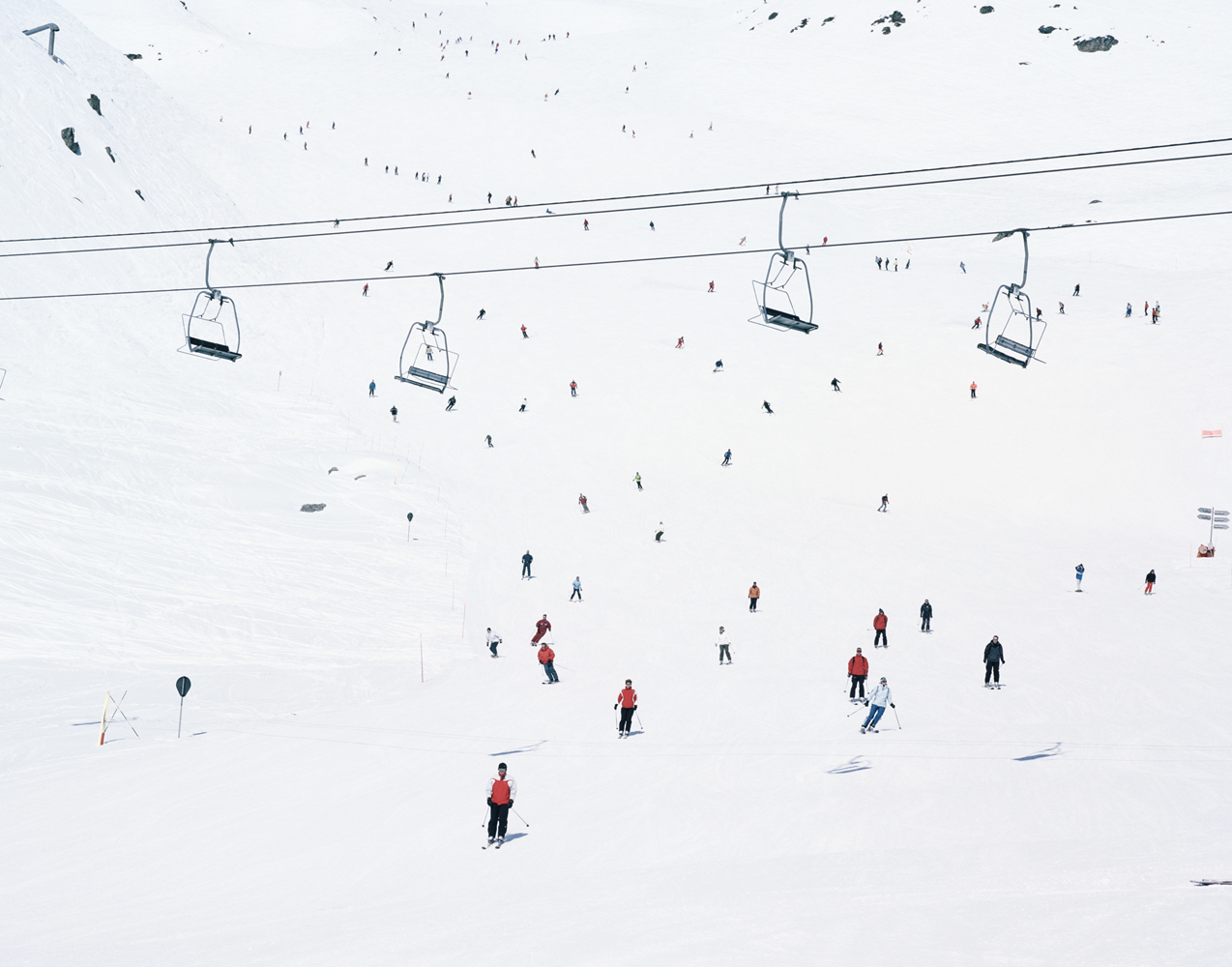 Crowded Slopes II, 2008